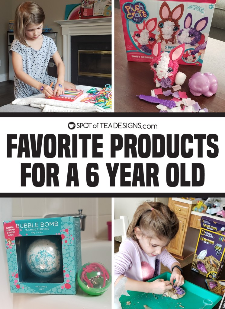Favorite products for a 6 year old - games, crafts, toys and sports equipment for youth sports | spotofteadesigns.com