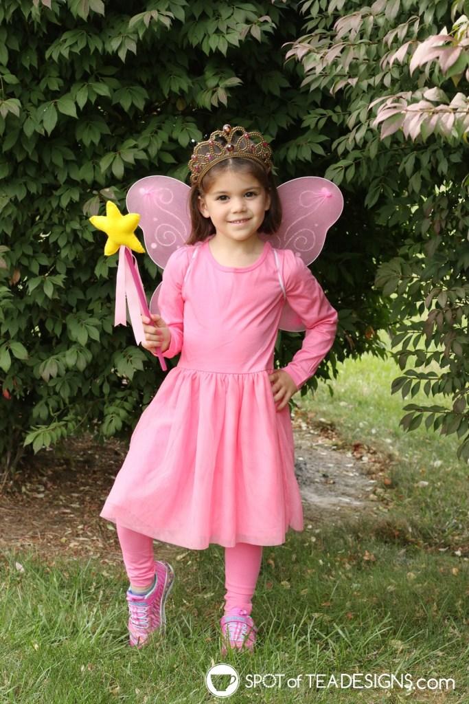 DIY Pinkalicious Halloween Costume | spotofteadesigns.com