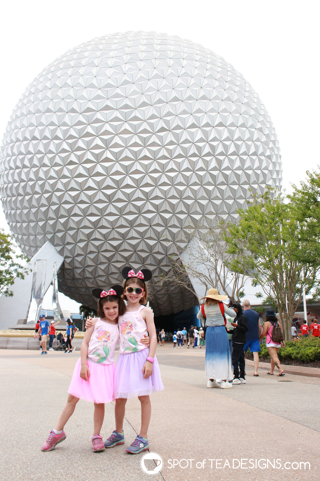 Our Disney World Vacation Budget - for a family of 4 plus grandparents in June 2021 | spotofteadesigns.com