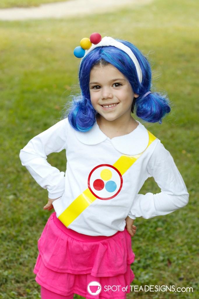 DIY Halloween Costume True and the Rainbow Kingdom | spotofteadesigns.com