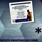 Artiste Registration Form