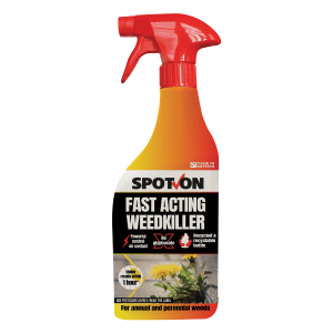 SPOT-ON Fast Acting Weed Killer ready to use 1 litre spray