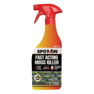 SPOT-ON Fast Acting Moss Killer ready to use 1 litre spray