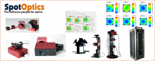 SpotOptics turn-key solutions for optical testing