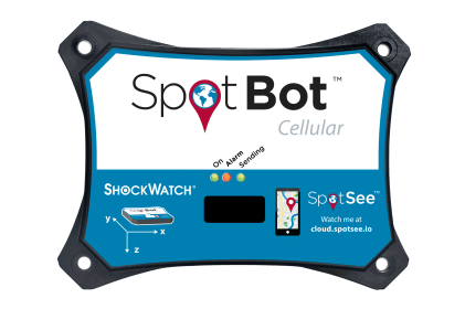 SpotBot Cellular with Lights and Good Label