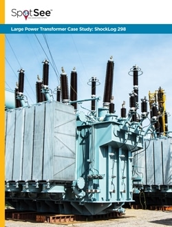 Large Power Transformer Case Study: ShockLog 298