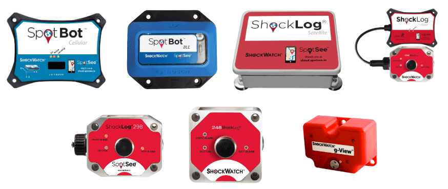 Shocks, Impacts, Vibrations, and Tilts: How to Monitor and Indicate Them