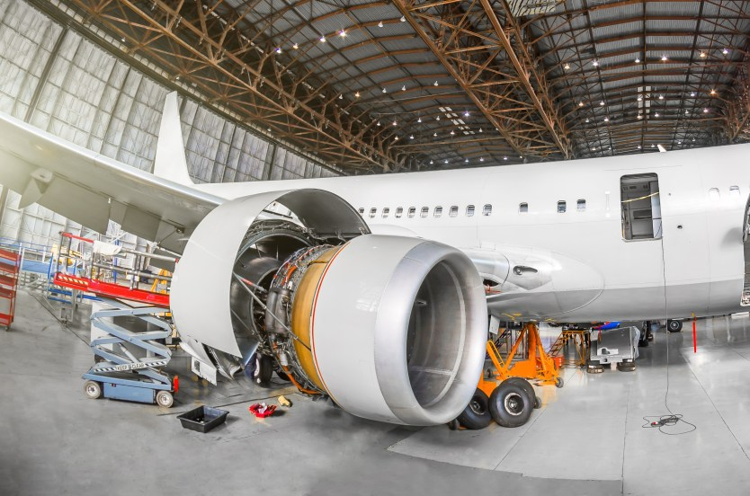 In aerospace manufacturing, RFID provides added visibility