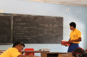 Kiribati lesson, Immaculate Heart College, North Tarawa