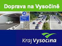 Dopravní situace na Vysočině