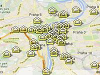 Vybydlené domy v Praze