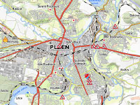 Hasičská mapa Plzeňsko