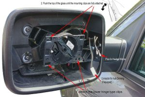 20092018 Dodge RAM TwoAxis Spotter Mirror Overview