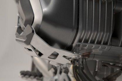 Protection de cylindre. Gris. BMW R1200 R / GS / Adv, R nineT.