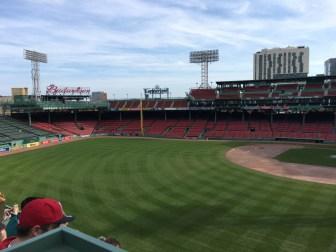 Travel Guide: Boston on a Budget - Fenway Park Tour - www.spousesproutsandme.com