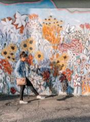 Flower Wall - Nashville Travel Guide - www.spousesproutsme.com
