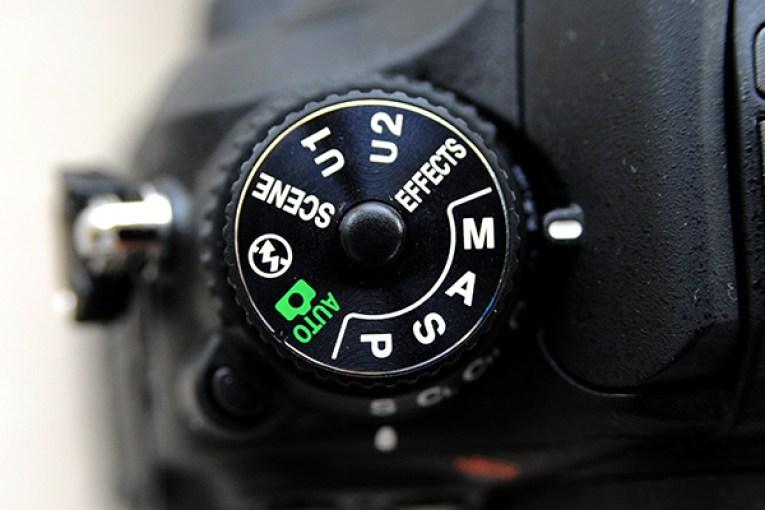 Кольцо выбора режимов съёмки