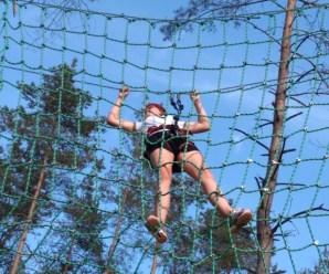 """""""Kumulacja Sportu"""" w parku linowym"""