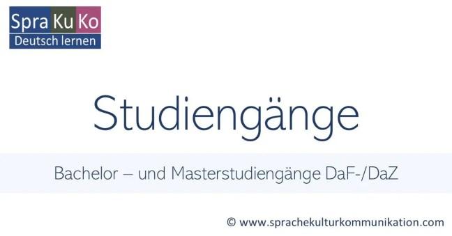 Ausbildung DaF-Lehrer