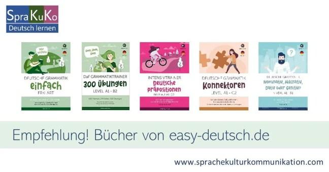 Bücher zum Deutschlernen