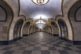 Metrostation Elektrozavodskaya Moskau Bild 3