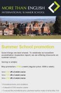 May promo - summer school