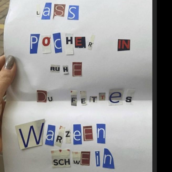 Oliver Pocher vs. Anne Wünsche & ein anonymer Brief