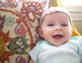 Rowan: 3 months old