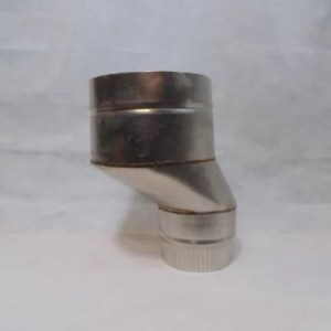 Stainless Steel 50mm Offset Flue Adaptor