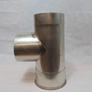 Stainless Steel 90 degree Tee