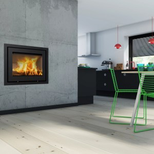 Lotus 570 Wood Burning Cassette Stove