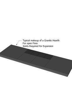 Black Granite Hearths