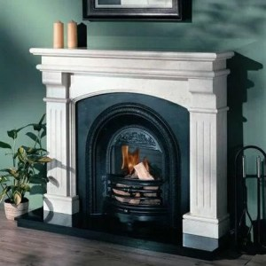 Bridge Grand Marble Fireplace