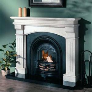 Bridge Grand Marble Fireplace