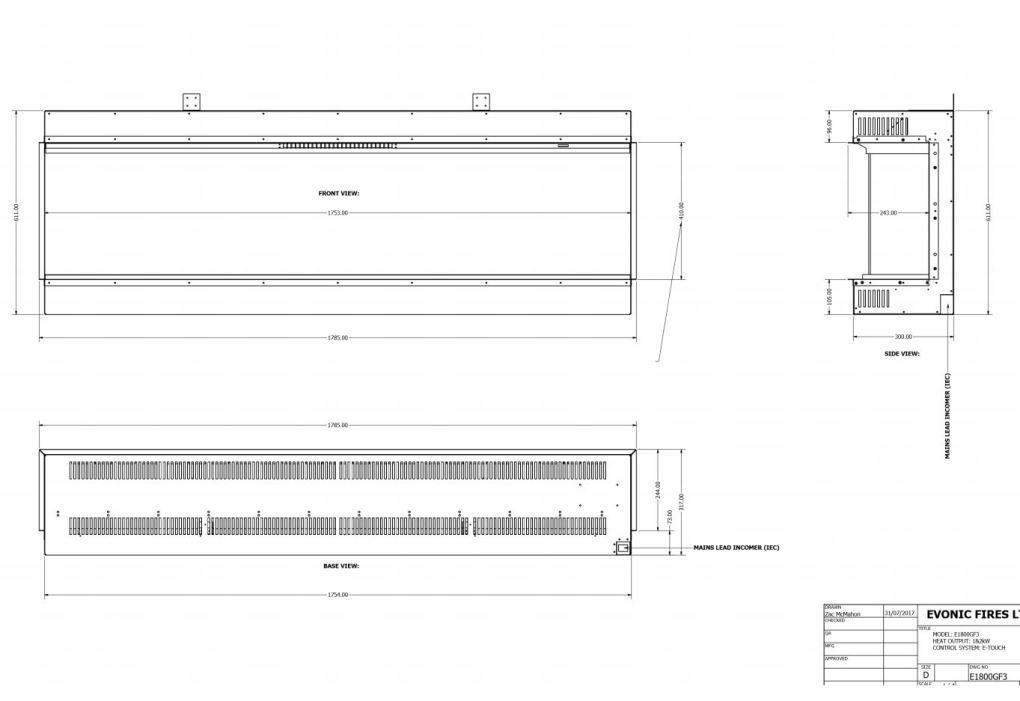 Evonic E1800GF Diagram