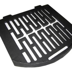 Gercross-curved Back Boiler Grate