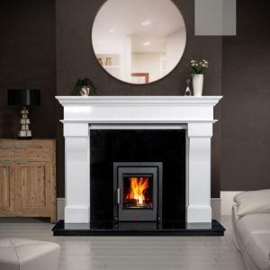Bordeaux Polar white Fireplace