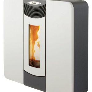 Kalor Donata 16B Slimline Wood Pellet Boiler Stove White