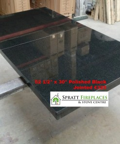 52 x 30 Polished Black jointed €325