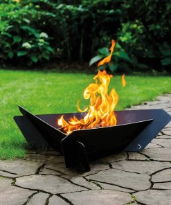 TRIANGLE garden fireplace
