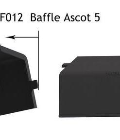Henley Ascot 5kW Freestanding Stove Baffle Plate
