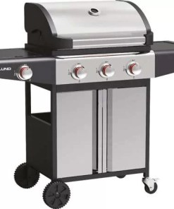 3 + 1 GAS GRILL STAINLESS STEEL 12.8 KW