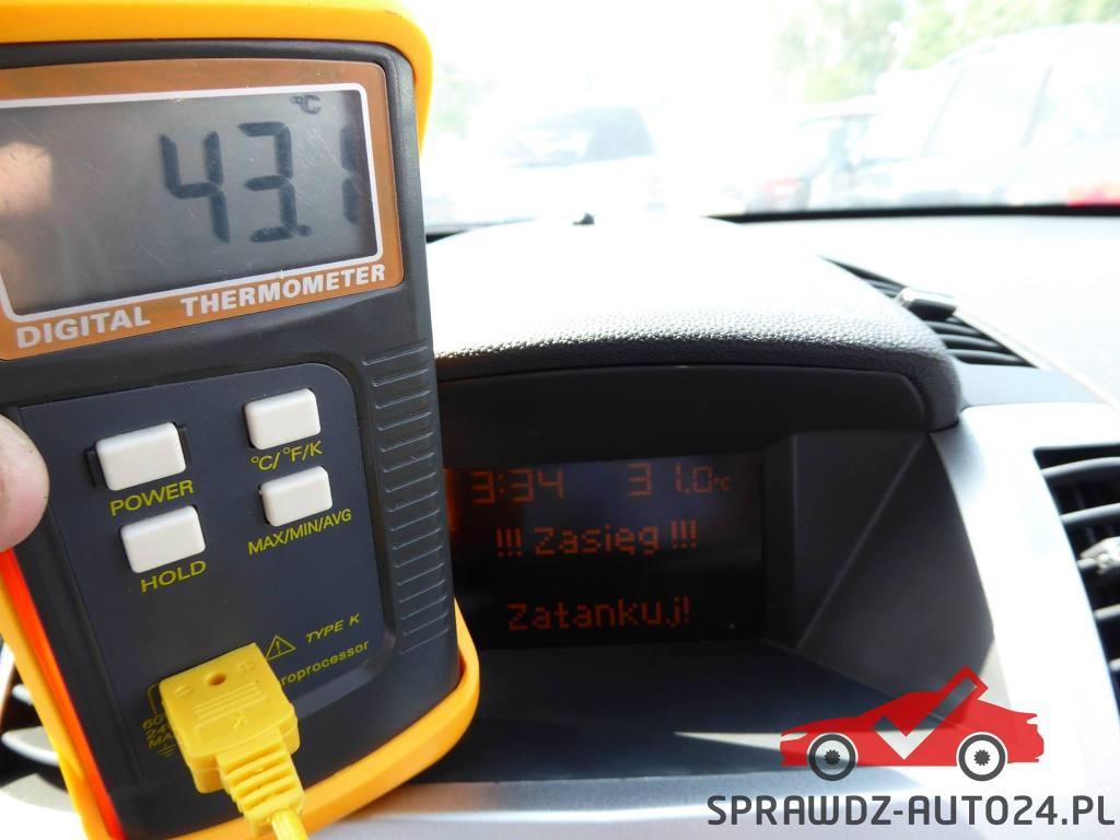 Termometr elektroniczny. Diagnostyka komputerowa samochodu - Sprawdź Auto