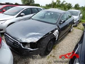 Uszkodzone Audi. Ocena samochodu przed kupnem, sprawdzanie auta przed kupnem