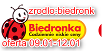 Biedonka- oferta do 12.01.14