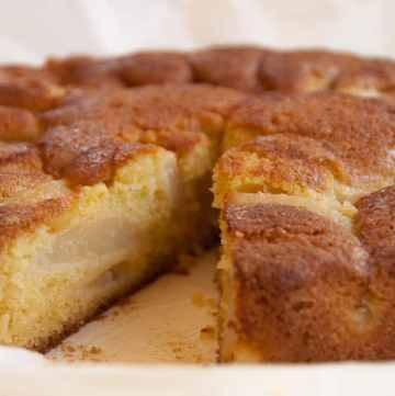 szybkie ciasto gruszkowo-imbirowe
