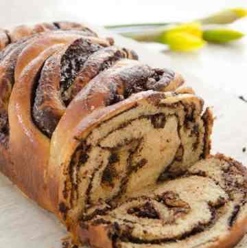 krantz czekoladowy - ciasto drożdżowe