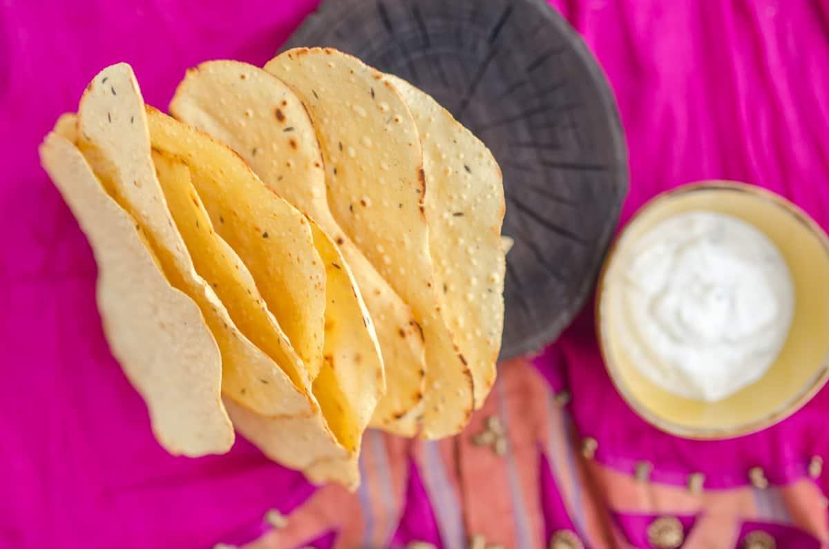 Papad Indyjskie Chipsy Przepis Sprawdzona Kuchnia