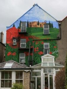 Graffitiauftrag Hauswand in Dublin
