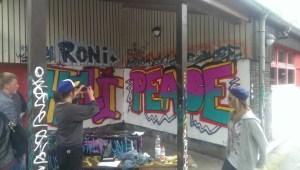 Graffiti Workshop Königswiesen Resultat